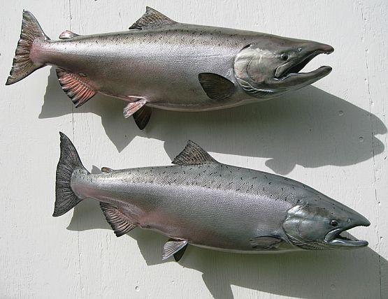 King Salmon Replica Mounts