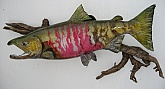 Chum Salmon Reproduction: Chum Salmon Fish Mount Reproduction