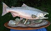 King Salmon Fish Mount: King Salmon Fish Taxidermy: Best Fish Mounts in Alaska